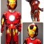 Iron Man (งานลิขสิทธิ์) ชุดแฟนซีเด็กไอออนแมน 3 ชิ้น เสื้อ กางเกง & หน้ากาก ให้คุณหนูๆ ได้ใส่ตามจิตนาการ ผ้ามัน Polyester ใส่สบายค่ะ หรือจะใส่เป็นชุดนอนก็ได้ค่ะ size 4, 6, 8, 10 thumbnail 1