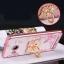 (587-002)เคสมือถือวีโว Vivo Xshot เคสนิ่มลายดอกขอบแววพื้นหลังแหวนโลหะคริสตัลสวยๆ thumbnail 1