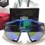 แว่นตาปั่นจักรยาน 100% Speedcraft Cyan <Blue mirror short lens> thumbnail 3