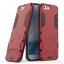 (538-018)เคสมือถือ Asus ZenFone 4 (ZE554KL) เคสขอบนิ่มพื้นหลังพลาสติกขาตั้งสไตล์ IronMan thumbnail 4