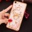 (025-837)เคสมือถือ Case OPPO A79 เคสนิ่มซิลิโคนใสลายดอกไม้หรูติดคริสตัล พร้อมแหวนเพชรวางโทรศัพท์ thumbnail 12