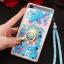 (549-001)เคสมือถือ Case Huawei P8 Lite เคสพลาสติกใส Glitter ทรายดูดหัวใจ thumbnail 15