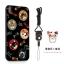 (025-882)เคสมือถือไอโฟน Case iPhone X เคสนิ่มซิลิโคนลายน่ารักพร้อมแหวนมือถือและสายคล้องคอถอดแยกได้ thumbnail 4
