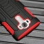 (002-169)เคสมือถือ LG G4 เคสนิ่ม+พื้นหลังประกบแบบพลาสติก+มีขาตั้ง+ที่เหน็บเอวสไตล์กันกระแทก thumbnail 1