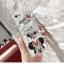 (025-633)เคสมือถือไอโฟน Case iPhone 6/6S เคสนิ่มซิลิโคนพื้นแววกึ่งกระจกลาย Mickey Minnie พร้อมแหวนมือถือ thumbnail 4
