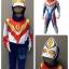 Ultraman Dyna (งานลิขสิทธิ์) ชุดแฟนซีเด็กอุลตร้าแมน ไดน่า 3 ชิ้น เสื้อ กางเกง & หน้ากาก ให้คุณหนูๆ ได้ใส่ตามจิตนาการ ผ้ามัน Polyester ใส่สบายค่ะ หรือจะใส่เป็นชุดนอนก็ได้ค่ะ ++แถม VCD การ์ตูน ++ size S, M, L, XL thumbnail 1