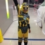 Bumblebee จากหนังเรื่อง Transformers ชุดแฟนซีเด็กบัมเบิล บี 3 ชิ้น เสื้อ กางเกง & หน้ากาก ให้คุณหนูๆ ได้ใส่ตามจิตนาการ ผ้ายืด ใส่สบายค่ะ หรือจะใส่เป็นชุดนอนก็ได้ค่ะ งานสวย ห้ามพลาดนะคะ size S, M, L, XL thumbnail 1
