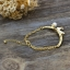 เกาหลีฟีเวอร์ Moon & Rabbit Bracelet สร้อยข้อมือกระต่ายหมายจันทร์ thumbnail 4