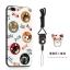 (025-682)เคสมือถือไอโฟน Case iPhone7 Plus/iPhone8 Plus เคสนิ่มซิลิโคนลายน่ารักพร้อมแหวนมือถือและสายคล้องคอถอดแยกได้ thumbnail 3