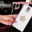 (พร้อมส่ง)เคสมือถือซัมซุงโน๊ต4 Case Note4 เคสพลาสติกใสประดับคริสตัลสวยๆ thumbnail 2