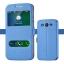 (038-012)เคสมือถือซัมซุง Case Mega 5.8 เคสนิ่มสไตล์ฝาพับโชว์สองหน้าจอแฟชั่น thumbnail 2
