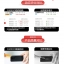 (039-048)ฟิล์มกระจก Huawei Honor 6 รุ่นปรับปรุงนิรภัยเมมเบรนกันรอยขูดขีดกันน้ำกันรอยนิ้วมือ 9H HD 2.5D ขอบโค้ง thumbnail 6