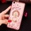 (025-837)เคสมือถือ Case OPPO A79 เคสนิ่มซิลิโคนใสลายดอกไม้หรูติดคริสตัล พร้อมแหวนเพชรวางโทรศัพท์ thumbnail 6