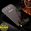 (พร้อมส่ง)เคสมือถือ Samsung Galaxy Note2 เคสกรอบโลหะพื้นหลังอะคริลิคเคลือบเงาทองคำ 24K thumbnail 1