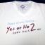 เสื้อยืด Yes Or No 2 สีขาวไซส์ L thumbnail 1