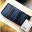 KOTON BRAND ZIP PURSE กระเป๋ารับทรัพย์คนเกิดวันเสาร์ กระเป๋าสตางค์ผู้หญิงสีน้ำเงินกรมท่า มีช่องใส่เหรียญและมือถือ thumbnail 2