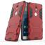 (538-029)เคสมือถือ Nokia 7 เคสขอบนิ่มพื้นหลังพลาสติกขาตั้งสไตล์ IronMan thumbnail 4