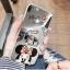(025-633)เคสมือถือไอโฟน Case iPhone 6/6S เคสนิ่มซิลิโคนพื้นแววกึ่งกระจกลาย Mickey Minnie พร้อมแหวนมือถือ thumbnail 3