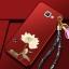(388-106)เคสมือถือซัมซุง Case Samsung A9 Pro เคสนิ่มคลุมเครื่องลายดอกไม้แฟชั่นสวยๆ พร้อมสายคล้องมือลายดอกไม้ thumbnail 9
