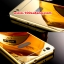 (025-157)เคสมือถือ Case Huawei Honor 6 เคสกรอบโลหะพื้นหลังอะคริลิคเคลือบเงาทองคำ 24K thumbnail 3