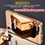 (025-149)เคสมือถือ Case OPPO R7/R7 Lite เคสกรอบโลหะพื้นหลังอะคริลิคเคลือบเงาทองคำ 24K thumbnail 1