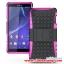 (002-069)เคสมือถือโซนี่ Case Sony Xperia Z3 เคสพลาสติกด้านในนิ่มสไตล์กันกระแทกรุ่นขอบสี thumbnail 6