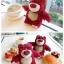 (151-289)เคสมือถือ HTC One A9 เคสพลาสติกใสดิสนีย์หมีตุ๊กตาสตรอเบอร์รี่ thumbnail 5