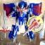 หุ่นยนต์แปลงร่างจากหนัง Transformers 4 - Optimus แปลงร่างเป็นรถได้ ผลิตจากวัสดุอย่างดี งานสวย ปรับท่าได้หลายแบบ สูงประมาณ 8 นิ้ว (Taikongshenrs) น่าเล่น น่าสะสม หรือเป็นของฝากถูกใจน้องๆ แน่นอนจ้า thumbnail 1