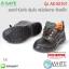 รองเท้านิรภัย หุ้มส้น หนังอัดลาย หัวเหล็ก พื้น PU รุ่น AS-SS101 ( Safety Shoes ) thumbnail 1