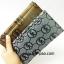 กระเป๋าสตางค์ใบยาว MK สีเงิน-ดำ ขนาด 2 พับ thumbnail 10