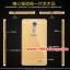 (025-161)เคสมือถือ Case OPPO R7 Plus เคสกรอบโลหะพื้นหลังอะคริลิคเคลือบเงาทองคำ 24K thumbnail 7
