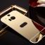 (025-075)เคสมือถือ HTC M8 เคสกรอบโลหะพื้นหลังอะคริลิคแวววับคล้ายกระจกสวยหรู thumbnail 7