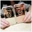 (025-706)เคสมือถือไอโฟน Case iPhone 7 Plus/8 Plus เคสขอบนิ่มพื้นหลังแววกึ่งกระจกมีแหวนมือถือรูปหมี thumbnail 1