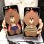 (025-565)เคสมือถือ Huawei P10 Plus เคสนิ่มลายหมี พร้อมสายคล้องคอแบบถอดแยกได้ thumbnail 1