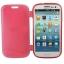 Case เคส แบบฝาเปิด ชนิดใส วัสดุ TPU Samsung Galaxy S3 SIII (i9300) สีแดง thumbnail 2