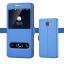 (038-013)เคสมือถือซัมซุง Case Samsung A9 Pro เคสนิ่มสไตล์ฝาพับโชว์สองหน้าจอแฟชั่น thumbnail 4