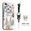 (025-682)เคสมือถือไอโฟน Case iPhone7 Plus/iPhone8 Plus เคสนิ่มซิลิโคนลายน่ารักพร้อมแหวนมือถือและสายคล้องคอถอดแยกได้ thumbnail 5
