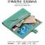 กระเป๋าสตางค์ใบยาว ประดับเข็มกลัดตัว H สี Pink หนัง PU นิ่ม thumbnail 4