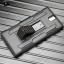 (002-118)เคสมือถือโซนี่ Case Sony Xperia C5 Ultra เคสนิ่ม+พื้นหลังประกบแบบพลาสติก+มีขาตั้ง+ที่เหน็บเอวสไตล์กันกระแทก thumbnail 2