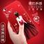 (025-825)เคสมือถือ Case Huawei P8 Lite เคสนิ่มซิลิโคนลายการ์ตูนผู้หญิง ขอบเพชรพร้อมสายคล้องคอถอดแยกได้ thumbnail 1