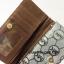 กระเป๋าสตางค์ใบยาว MK สีเงิน-ดำ ขนาด 2 พับ thumbnail 5