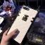 (682-009)เคสมือถือไอโฟน Case iPhone 7 Plus/8 Plus เคสลายหนังกระเป๋าหรู thumbnail 4