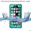 (662-004)เคสมือถือไอโฟน Case iPhone 6/6S เคสแนว Adventure กันน้ำ กันฝุ่น หิมะ IP68 thumbnail 2