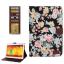 Peony Pattern Denim Case Samsung Galaxy Note 10.1 P600 (2014 Edition) thumbnail 1