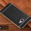 (พร้อมส่ง)เคสมือถือซัมซุง Case Samsung A9 Pro เคสนิ่มขอบทองแฟชั่นสไตล์นักธุรกิจสีดำ thumbnail 1