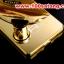 (025-155)เคสมือถือ Case Huawei P8 Lite เคสกรอบโลหะพื้นหลังอะคริลิคเคลือบเงาทองคำ 24K thumbnail 4