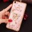(025-837)เคสมือถือ Case OPPO A79 เคสนิ่มซิลิโคนใสลายดอกไม้หรูติดคริสตัล พร้อมแหวนเพชรวางโทรศัพท์ thumbnail 8