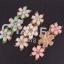 Princess White Flower Bracelet สร้อยข้อมือออกงานรูปดอกไม้แต่งหินสีขาวเจ้าหญิง thumbnail 5