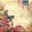 แนพกิ้น Flower Butterfly 7377 thumbnail 1
