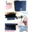 KOTON BRAND ZIP PURSE กระเป๋ารับทรัพย์คนเกิดวันเสาร์ กระเป๋าสตางค์ผู้หญิงสีน้ำเงินกรมท่า มีช่องใส่เหรียญและมือถือ thumbnail 5